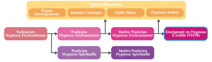 Cursus Formation Enseignant Hypnose Ericksonienne Paris